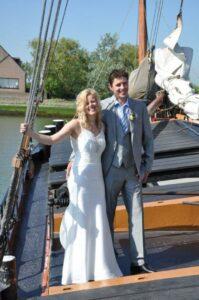 In het huwelijksbootje